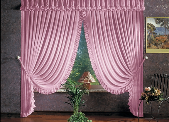 raumdekoration in verschiedenen farben gardinen bader. Black Bedroom Furniture Sets. Home Design Ideas