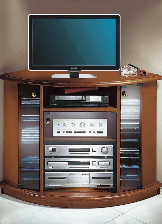 tv video eckwagen klassische m bel bader. Black Bedroom Furniture Sets. Home Design Ideas