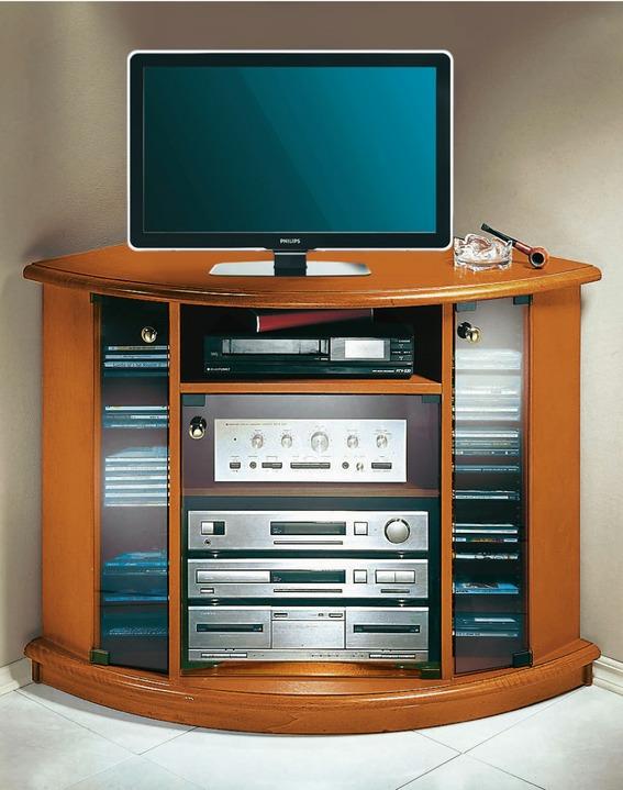 kirschbaum tv mobel Klassische Möbel - TV-Video-Eckwagen, in Farbe KIRSCHBAUM Ansicht 1