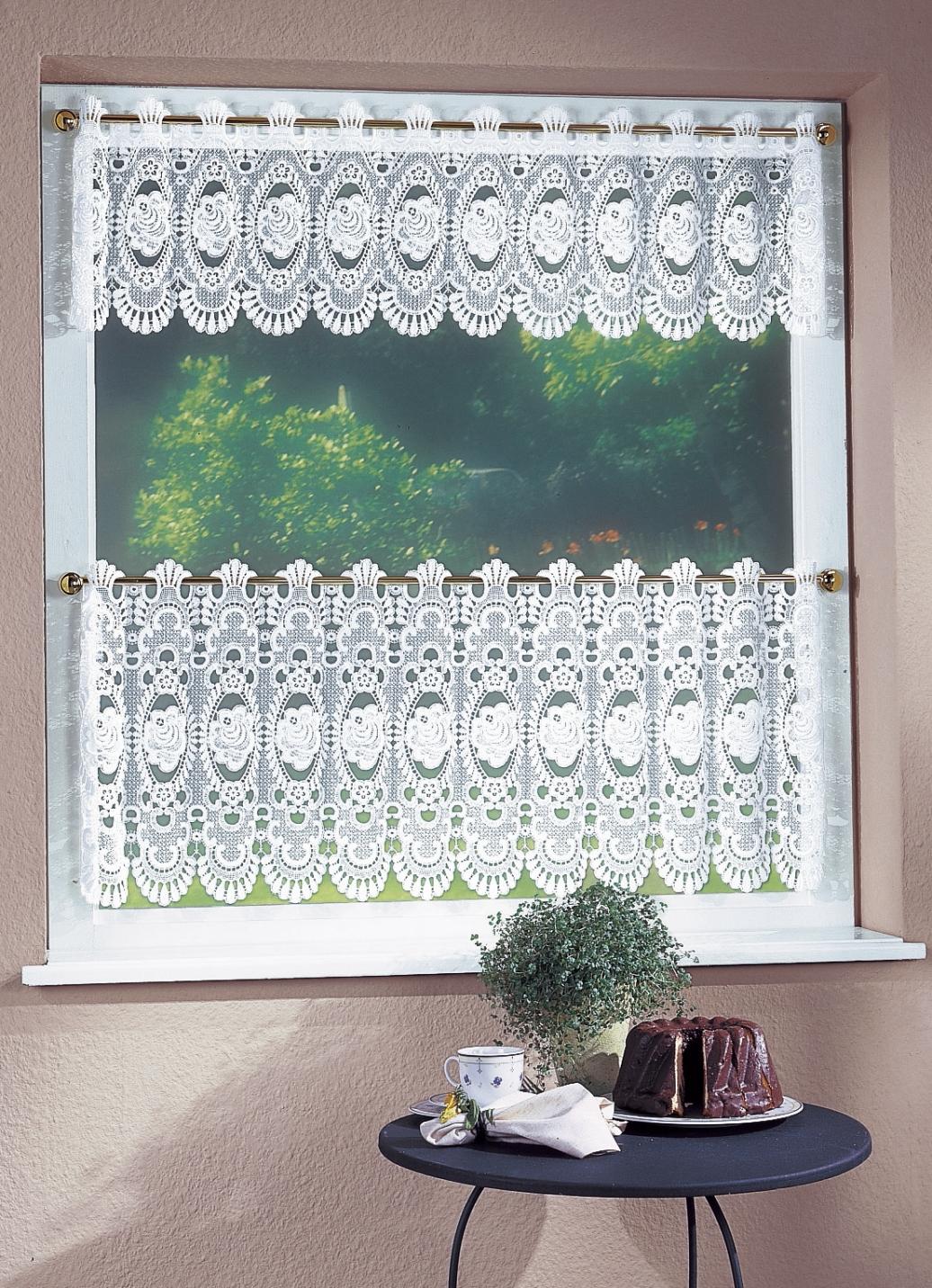 kurzgardine in verschiedenen farben gardinen bader. Black Bedroom Furniture Sets. Home Design Ideas
