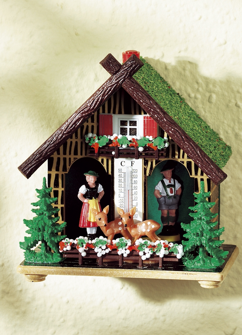 Wetterhaus bayern gartendekoration bader for Weihnachtliche gartendekoration