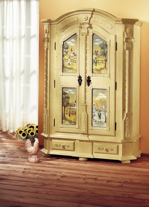 Dielenschrank in verschiedenen Dekors - Landhausmöbel | BADER