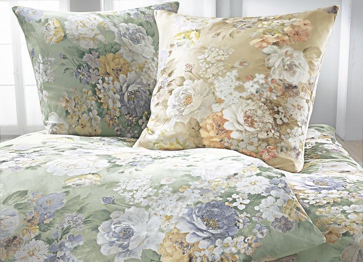 estella bettw sche garnitur verschiedene farben und. Black Bedroom Furniture Sets. Home Design Ideas