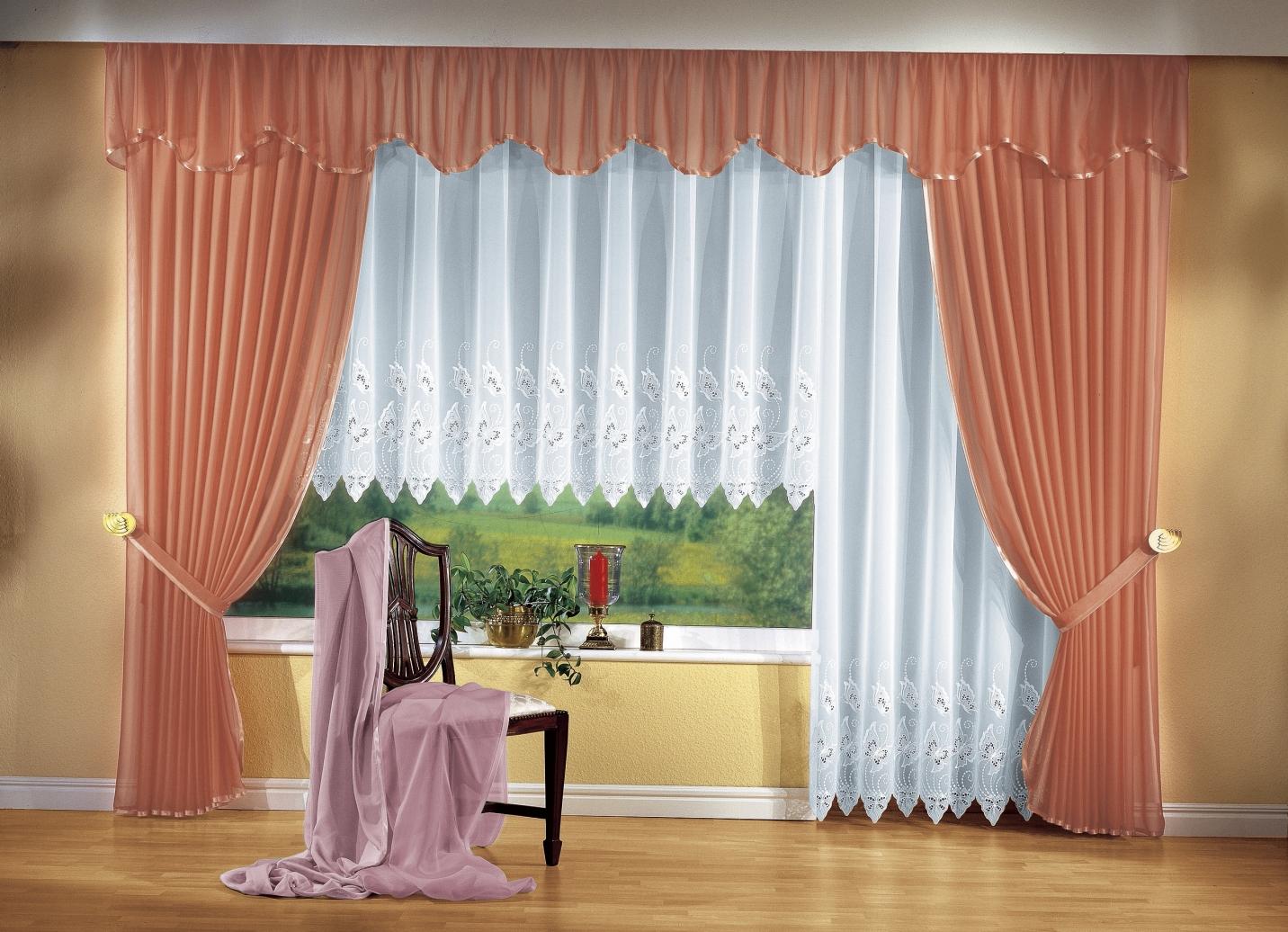 gardinen garnitur in verschiedenen ausf hrungen gardinen bader. Black Bedroom Furniture Sets. Home Design Ideas