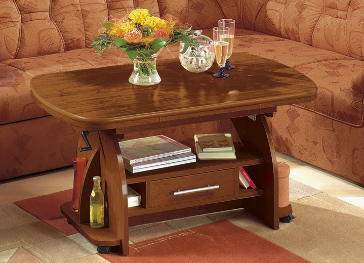 Couchtisch in verschiedenen Ausführungen - Eiche Rustikal-Möbel | BADER