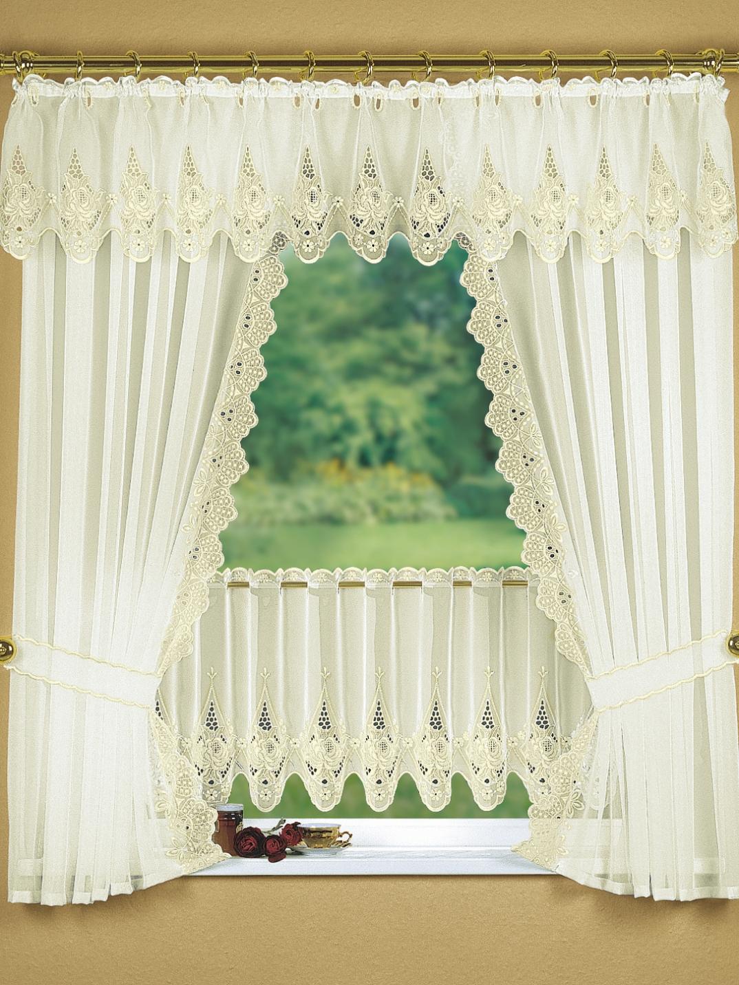 fensterdekoration in verschiedenen farben gardinen bader. Black Bedroom Furniture Sets. Home Design Ideas