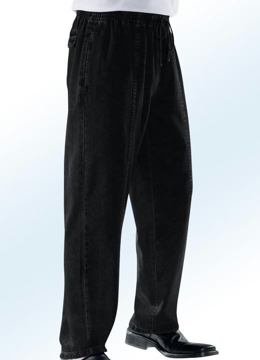 Jeans - Schlupfjeans mit Gummibund und Kordelzug in 4 Farben, in Größe 024  bis 110 60cad34a52