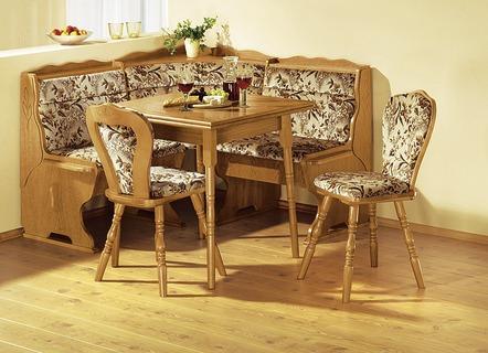 eckbankgruppe 4 teilig verschiedene ausf hrungen eiche rustikal m bel bader. Black Bedroom Furniture Sets. Home Design Ideas