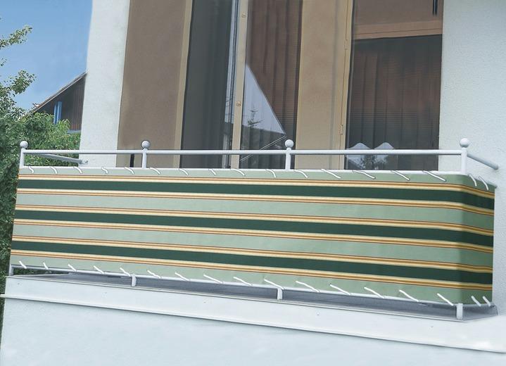 balkonbespannung in verschiedenen farben - sichtschutz und, Hause und Garten