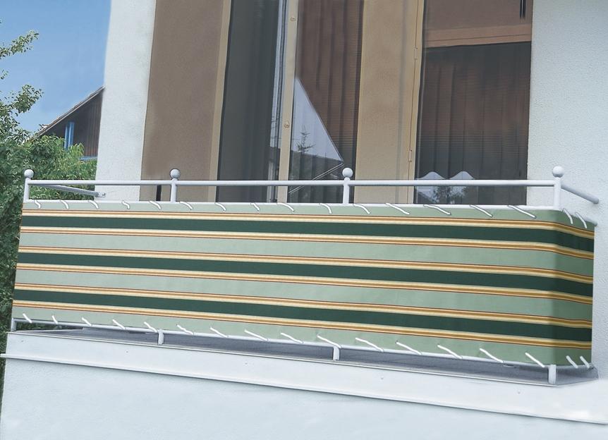 balkonbespannung in verschiedenen farben sichtschutz und sonnenschutz bader. Black Bedroom Furniture Sets. Home Design Ideas