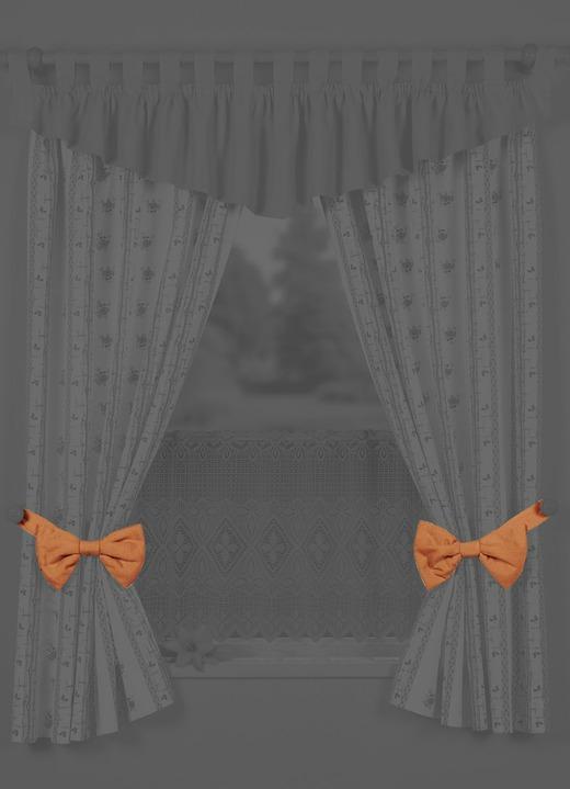 Dekorative schleifen raffhalter gardinen bader - Dekorative gardinen ...