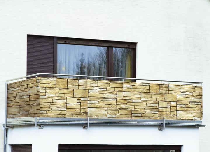 Balkon-Sichtschutz in verschiedenen Ausführungen