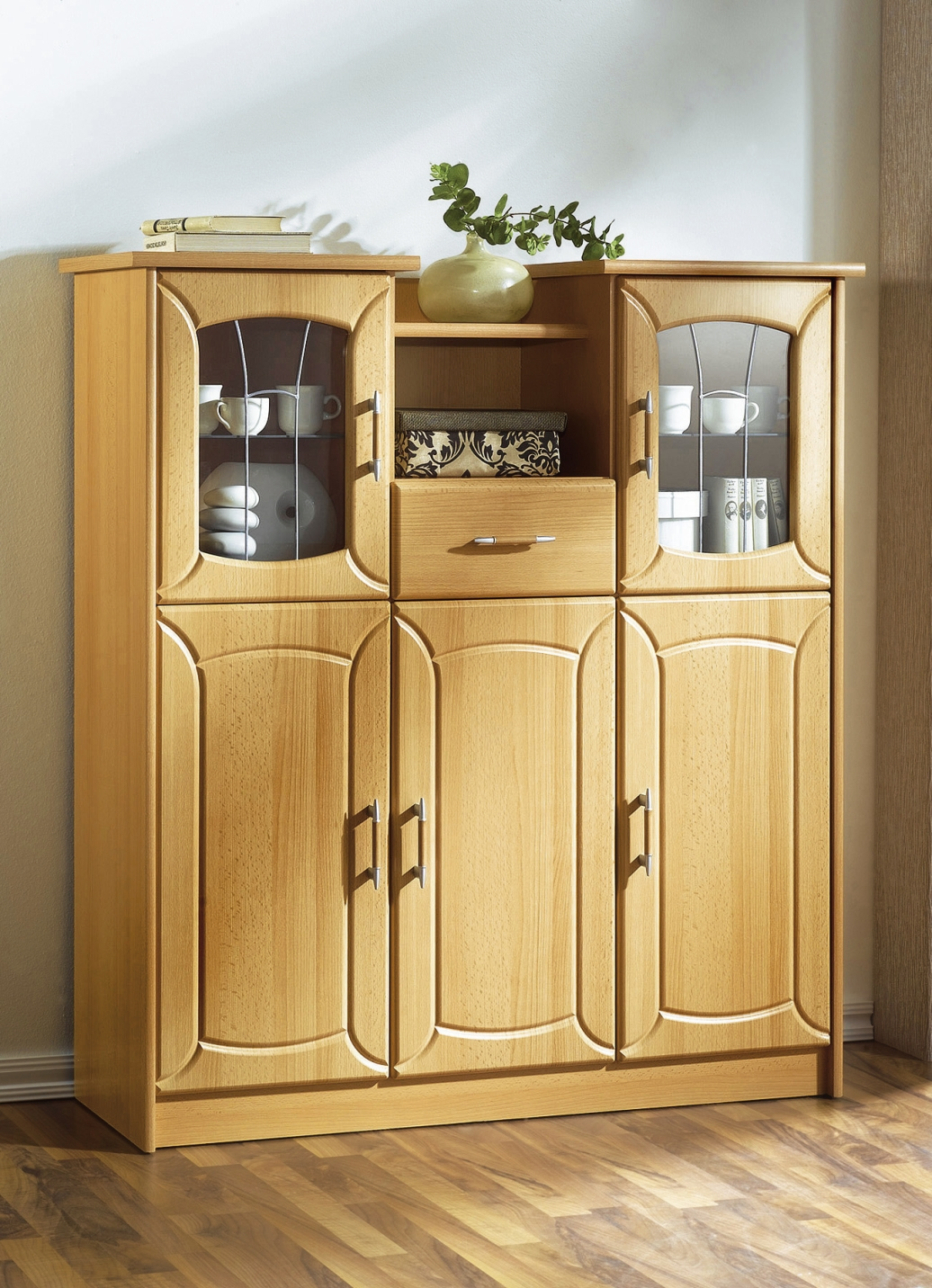 Highboard klassische m bel bader for Badezimmer highboard