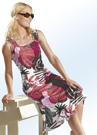 Plantier Strandkleid aus Interlock
