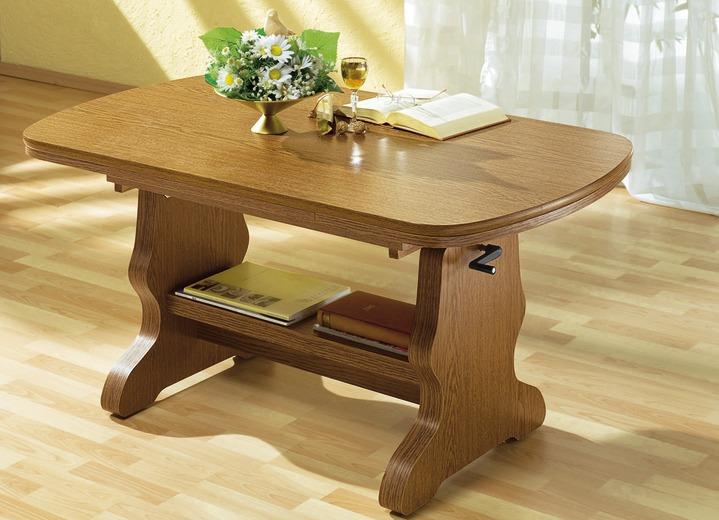 Couchtisch eiche rustikal modern  Couchtisch in verschiedenen Ausführungen - Eiche Rustikal-Möbel | BADER