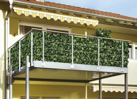 Hervorragend Sonnenschutz für Balkon, Garten und Terrasse im BADER-Onlineshop GU75