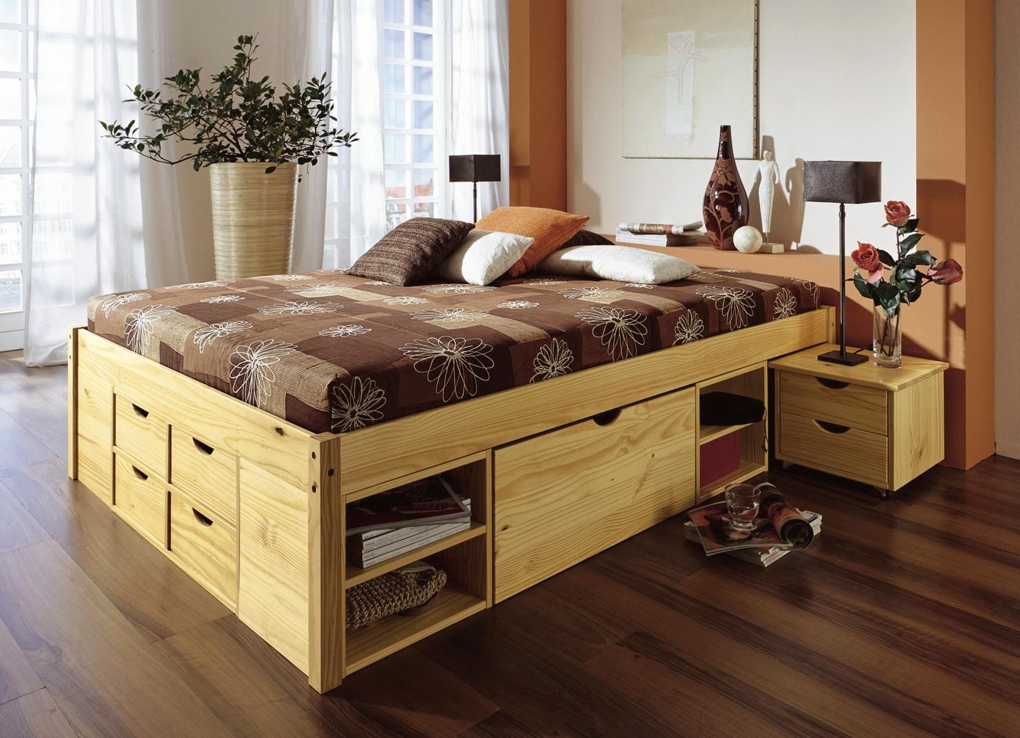 Funktionsbett 180x200  Funktionsbett in verschiedenen Ausführungen - Landhausmöbel | BADER
