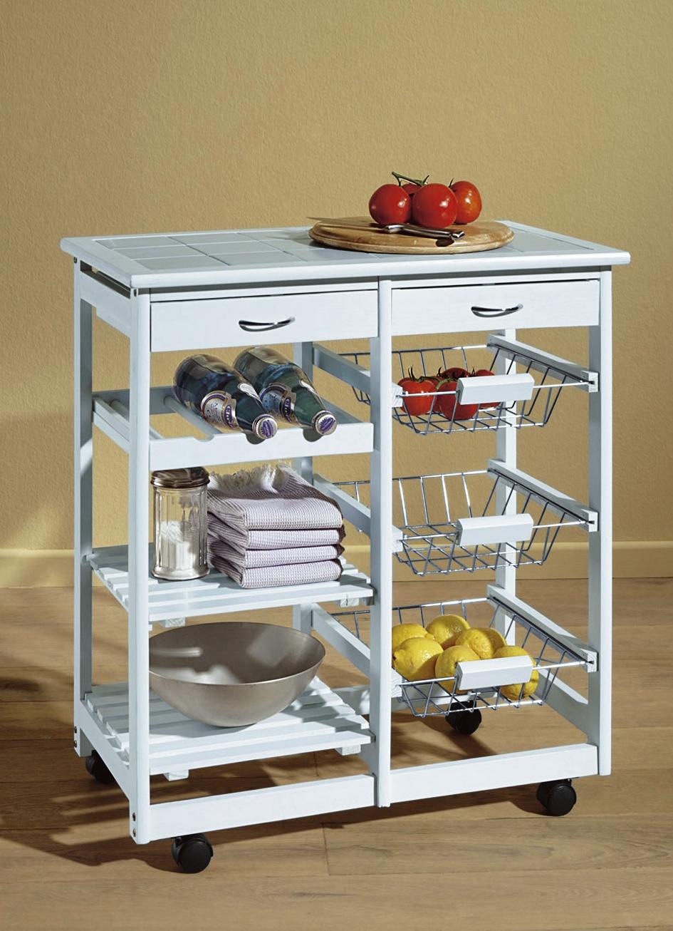 Küchenwagen in verschiedenen Ausführungen - Küchenmöbel | BADER | {Küchenwagen 35}