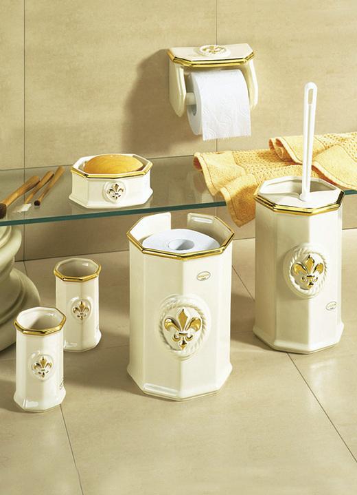 Badezimmer Accessoires   Badezimmeraccessoires, In Farbe CREME GOLD, In  Ausführung Seifenschale Ansicht