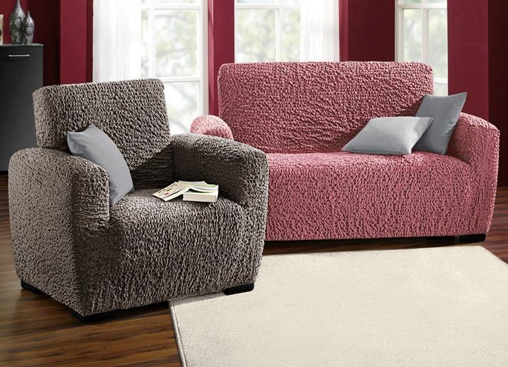 Stretchbezüge In Verschiedenen Farben Sessel Sofaüberwürfe Bader