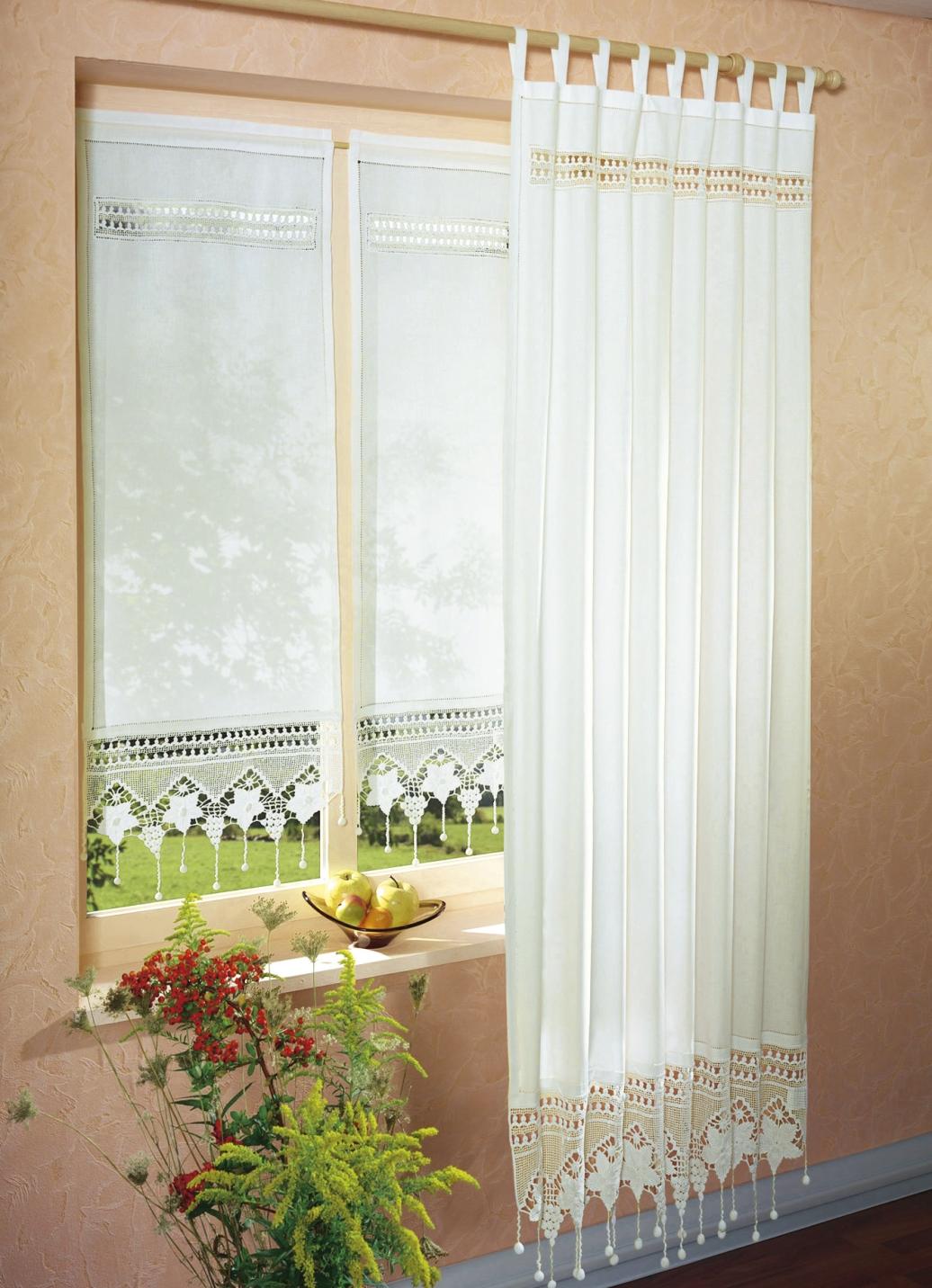 Fensterdekoration in verschiedenen farben gardinen bader - Bader gardinen ...