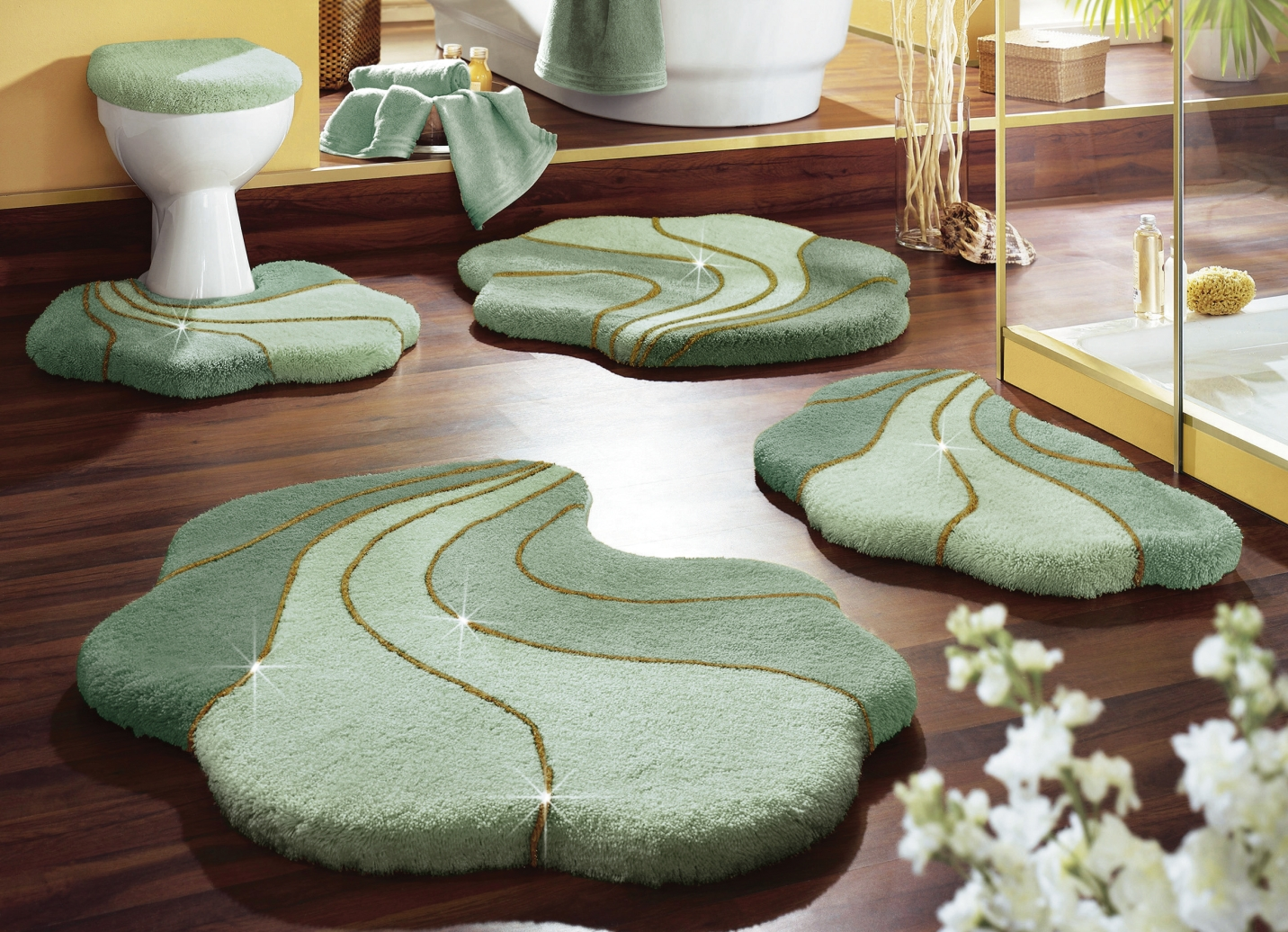 badezimmer vorleger grun die neueste innovation der. Black Bedroom Furniture Sets. Home Design Ideas