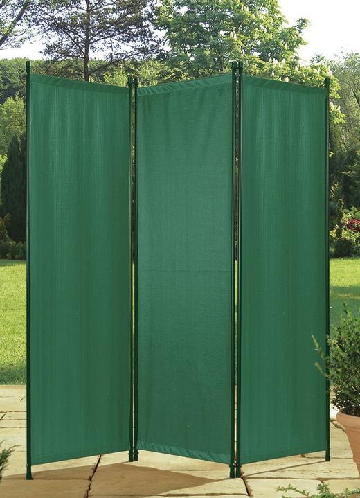 paravent 3 teilig in verschiedenen farben sichtschutz und sonnenschutz bader. Black Bedroom Furniture Sets. Home Design Ideas