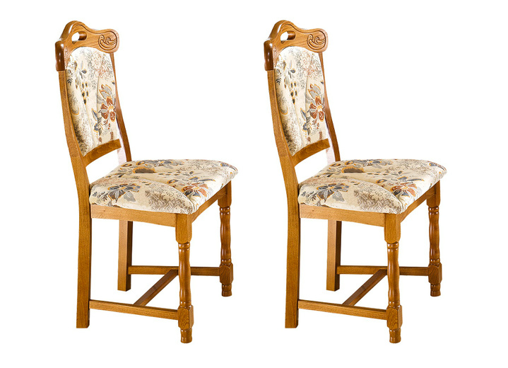 Esszimmer-Stühle, 2er-Set, verschiedene Farben - Stühle & Sitzbänke ...