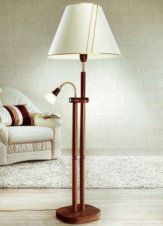 Stehleuchte mit Leselampe, verschiedene Farben - Klassische Möbel ...