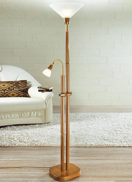 Deckenfluter mit Leselampe, verschiedene Farben - Klassische Möbel ...