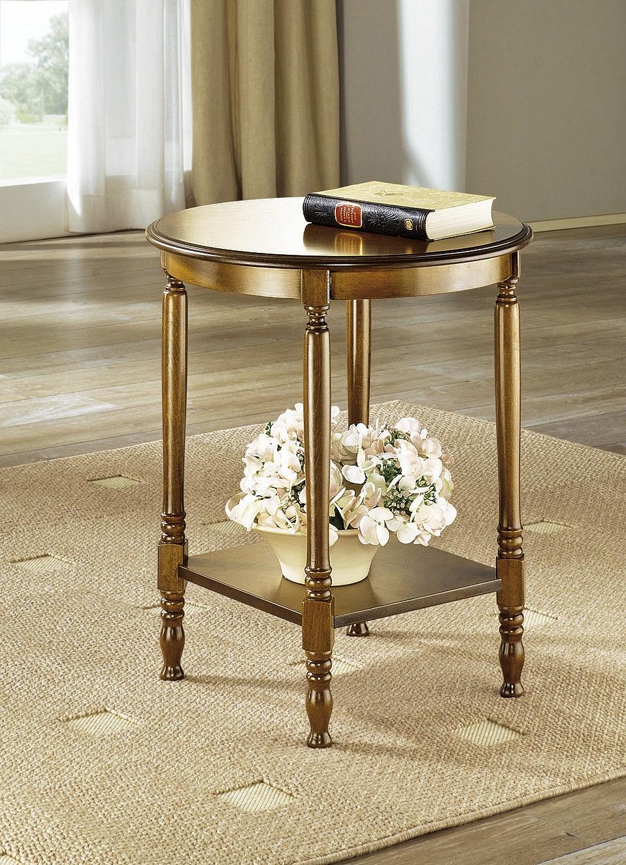 Eiche Rustikal Möbel   Beistelltisch, In Farbe KIRSCHBAUM