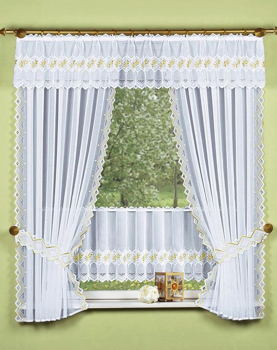 seitenschal in verschiedenen farben mit beidseitig bestickten seitenkanten gardinen bader. Black Bedroom Furniture Sets. Home Design Ideas