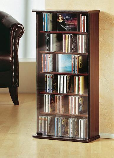vitrine f r 150 cds klassische m bel bader. Black Bedroom Furniture Sets. Home Design Ideas
