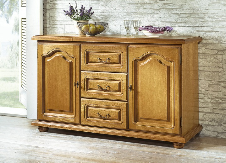 Kommode in verschiedenen Ausführungen - Eiche Rustikal-Möbel | BADER