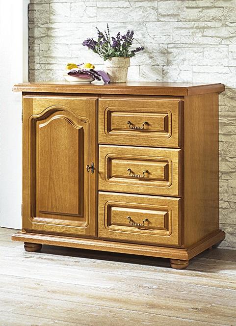 Eiche Rustikal Möbel   Kommode In Verschiedenen Ausführungen, In Farbe EICHE  RUSTIKAL, In