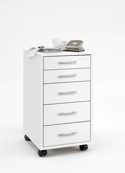 rollcontainer mit 5 schubladen b rom bel bader. Black Bedroom Furniture Sets. Home Design Ideas