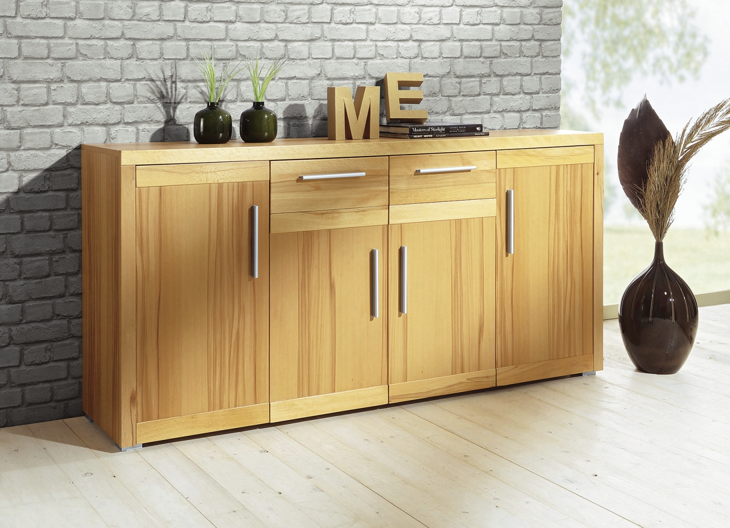kommode 4 t rig moderne m bel bader. Black Bedroom Furniture Sets. Home Design Ideas
