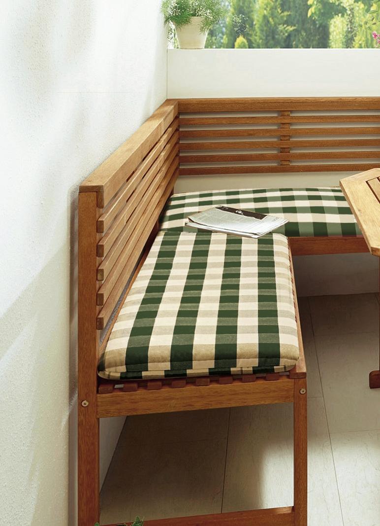 Balkonmobel Holz Gebraucht : Startseite > Garten > Kissen, Polster und Auflagen > Eckbankauflage