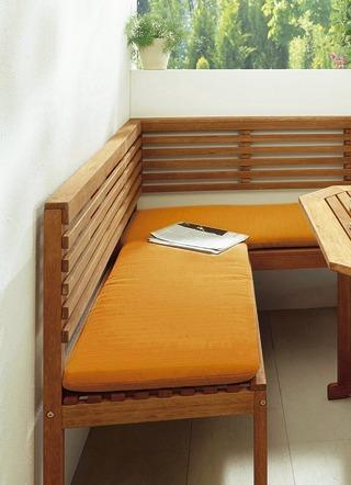 eckbankauflage 2 teilig kissen polster und auflagen bader. Black Bedroom Furniture Sets. Home Design Ideas