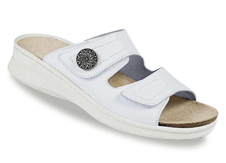 0aba6c9ab86326 Sandaletten   Pantoletten - Pantolette in 3 Farben mit herausnehmbarem