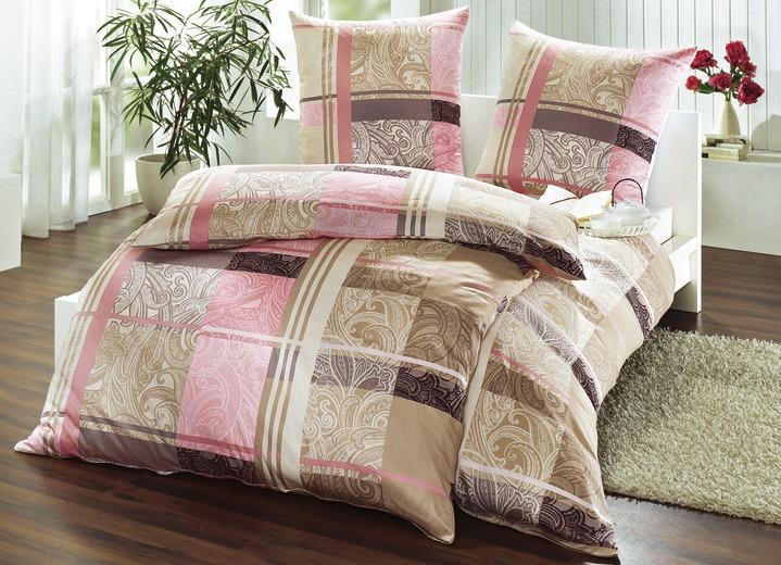 mesana bettw sche garnitur in verschiedenen farben bettw sche bader. Black Bedroom Furniture Sets. Home Design Ideas