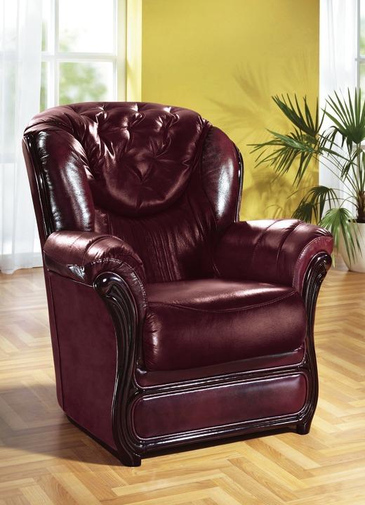 Polstermöbel aus Leder, verschiedene Ausführungen - Polstermöbel ...