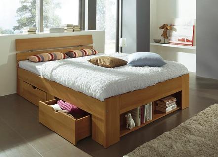 Bett in verschiedenen ausf hrungen betten bader for Bett mit schubladen 140x200