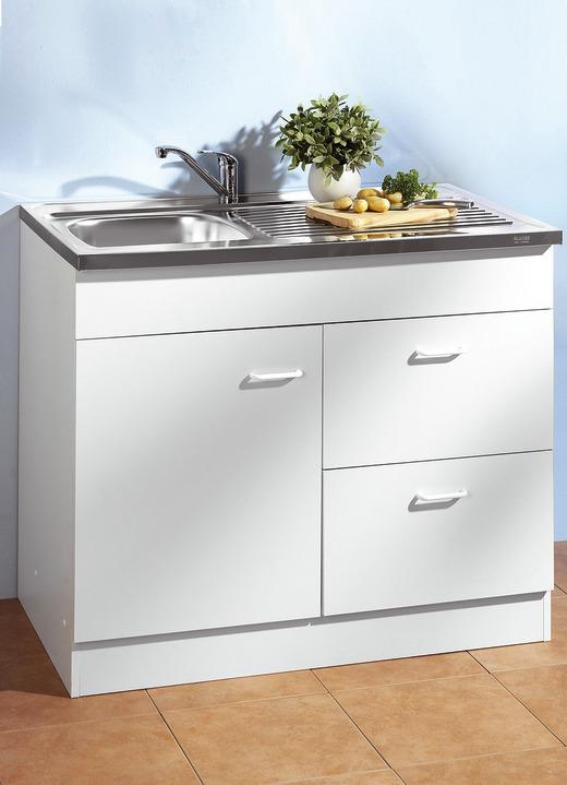 Spülen-Unterschrank, 1-türig - Küchenmöbel | BADER