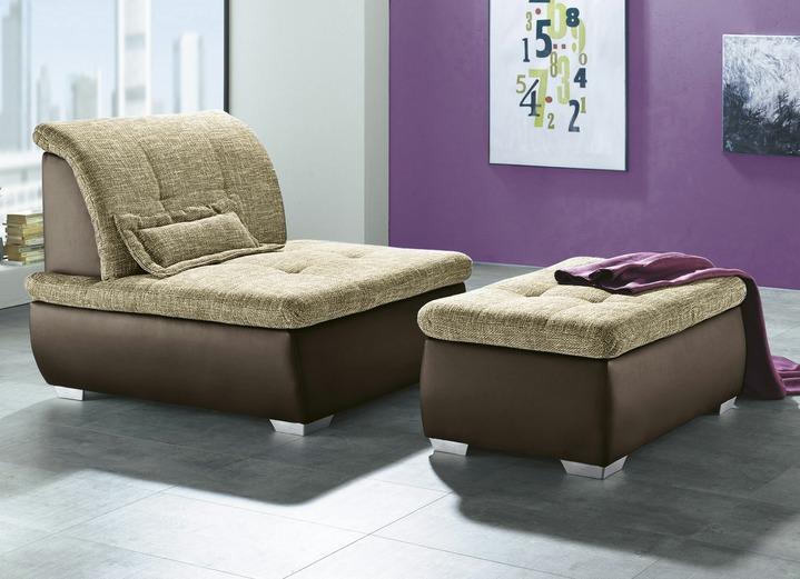 Moderne Möbel   Polstermöbel In Verschiedenen Ausführungen, In Farbe BRAUN CAPPC.,  In