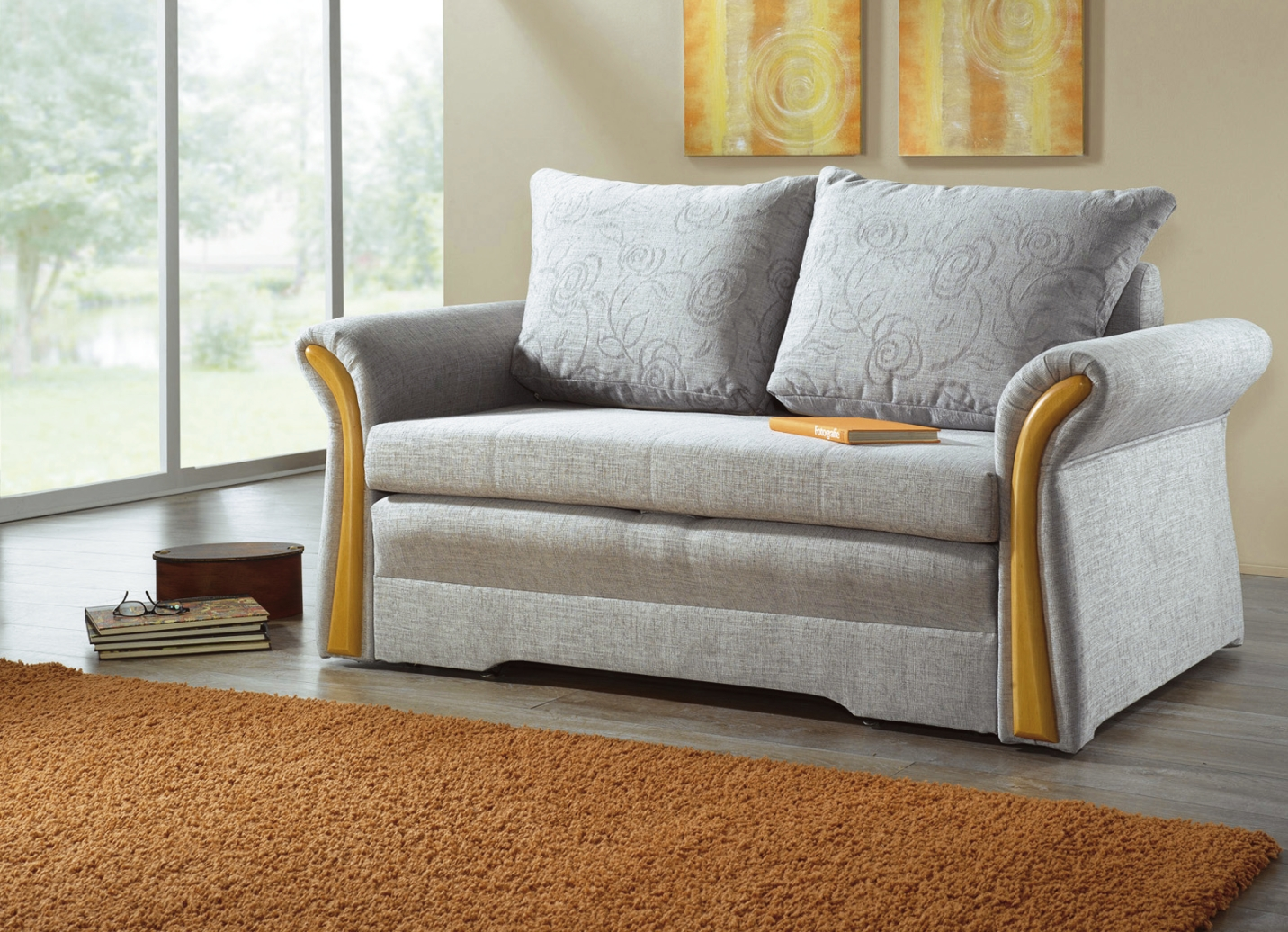 verwandlungs sofa in verschiedenen farben klassische. Black Bedroom Furniture Sets. Home Design Ideas