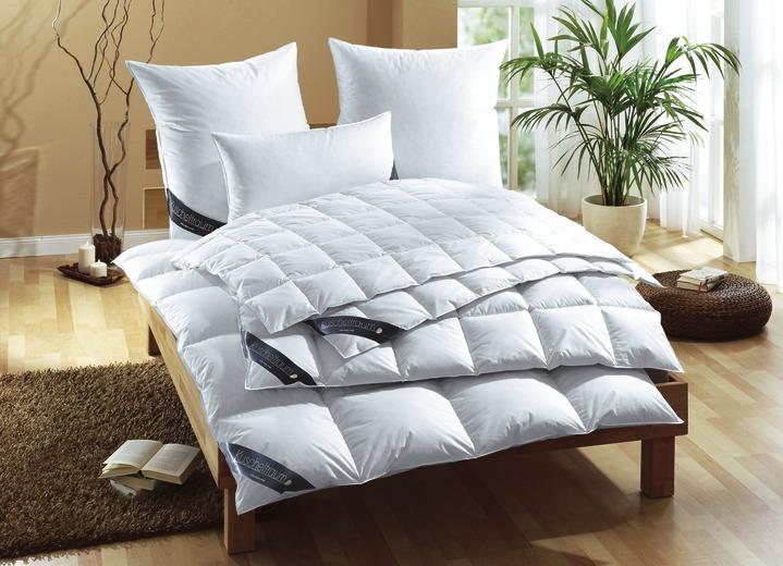 Einfache Dekoration Und Mobel Daunendecken Fuer Einen Erholsamen Schlaf 2 #19: Bettwaren - Daunendecke In 3 Wärmestufen, In Größe 110 (Decke 155/220 Cm