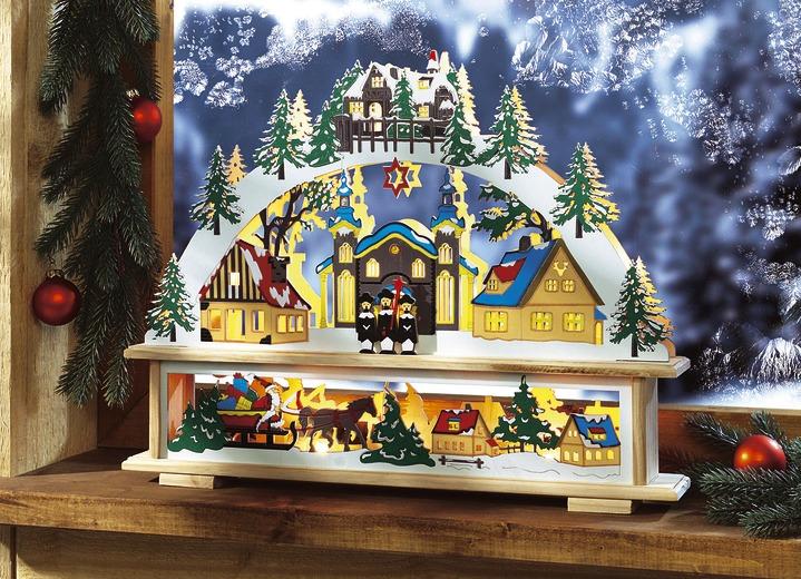 Beleuchteter fensterbogen weihnachtliche dekorationen bader - Bader weihnachtsdeko ...