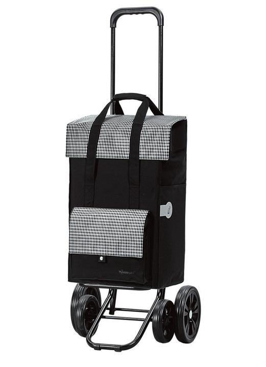 einkaufsroller quattro shopper milla in verschiedenen farben mobilit t bader. Black Bedroom Furniture Sets. Home Design Ideas