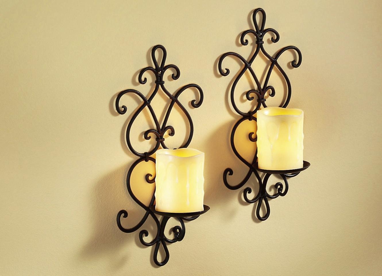 wandkerzenhalter wohnaccessoires bader. Black Bedroom Furniture Sets. Home Design Ideas